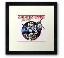 Heavy metal Space Robot Framed Print