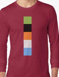 Goofy Color Pallet Long Sleeve T-Shirt
