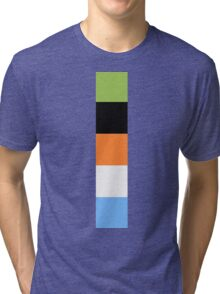 Goofy Color Pallet Tri-blend T-Shirt