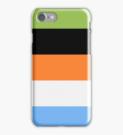 Goofy Color Pallet iPhone Case/Skin