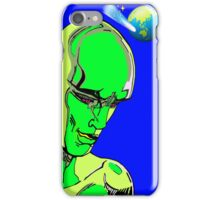 Alien Invasion from another galaxy iPhone Case/Skin