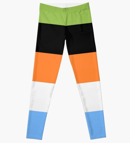 Goofy Color Pallet Leggings