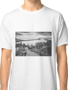 Whitby Steps Mono Classic T-Shirt