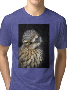 You looking at me!? Tri-blend T-Shirt
