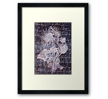 Lilyflower Abstract Framed Print