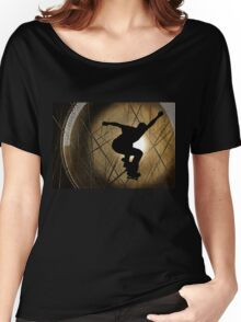 Skateboarder - Into the Sun Women's Relaxed Fit T-Shirt