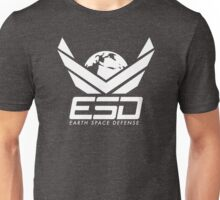 Earth Space Defense (global) white Unisex T-Shirt
