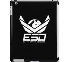 Earth Space Defense (global) white iPad Case/Skin