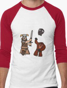 F*ck the Cloud District! Men's Baseball ¾ T-Shirt