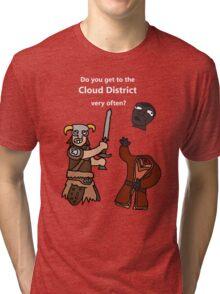 F*ck the Cloud District! Tri-blend T-Shirt