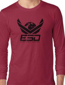Earth Space Defense (global) Long Sleeve T-Shirt