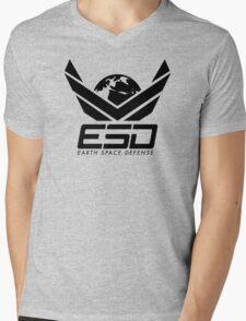 Earth Space Defense (global) Mens V-Neck T-Shirt
