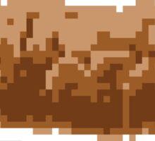 Pixel Poop Sticker