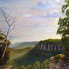 Escarpments Edge by John Cocoris