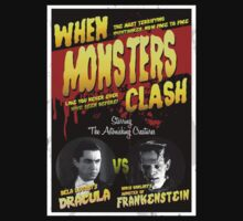 When Monsters Clash T-Shirt