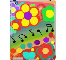 Musical Rainbow iPad Case/Skin