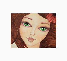 Close up green eye girl Unisex T-Shirt