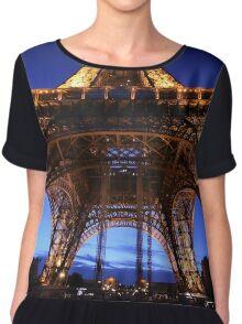 Eiffel Tower, Paris 2013 Chiffon Top
