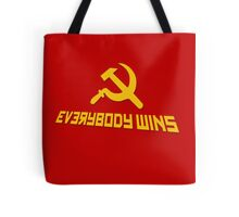 Everybody wins Tote Bag