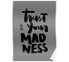 Trust Your Madness : Light Poster