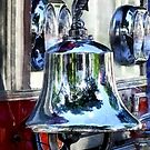 Fire Engine Bell Closeup by Susan Savad