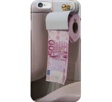 Devalueing the Euro iPhone Case/Skin
