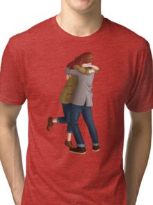 Together or Not At All (Doctor Who) Tri-blend T-Shirt