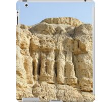 Eroded cliff made of marl.  iPad Case/Skin