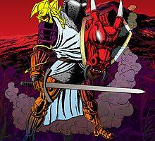 Dragon Knight by tonywicks