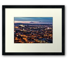 Edinburgh Glow Framed Print