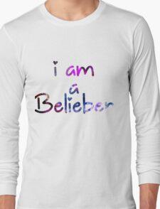 I am a Belieber - Justin Bieber  Long Sleeve T-Shirt