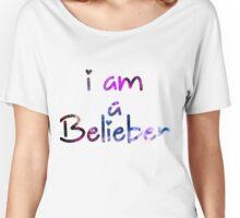 I am a Belieber - Justin Bieber  Women's Relaxed Fit T-Shirt