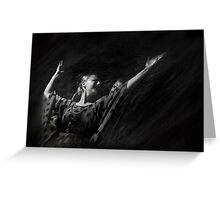 Passion of flamenco I Greeting Card