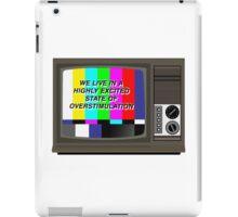 Videodrome  iPad Case/Skin