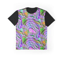 70's Psychedelic Abstract* Graphic T-Shirt