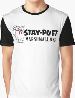 Ghostbusters - Stay Puft Marshmallows  Graphic T-Shirt