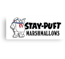 Ghostbusters - Stay Puft Marshmallows  Canvas Print