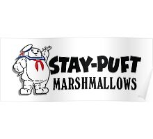 Ghostbusters - Stay Puft Marshmallows  Poster