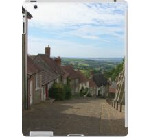 Gold Hill - Shaftesbury, Dorset iPad Case/Skin
