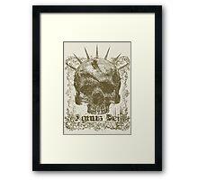 Skull 2 Agnus Dei Framed Print