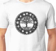 World Religions Unity Tree of Life Unisex T-Shirt