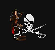 Pirate Punk Pinup Unisex T-Shirt
