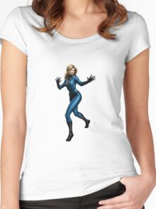 Invisible Woman Women's Fitted Scoop T-Shirt