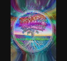 Tree of Health (Rainbow Aura 2) Unisex T-Shirt