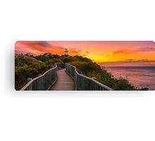 Sunrise at Cape Tourville Canvas Print