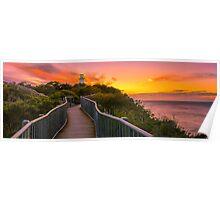 Sunrise at Cape Tourville Poster
