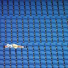 Asleep in the Blue Seats by mikebov