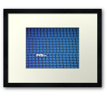Asleep in the Blue Seats Framed Print
