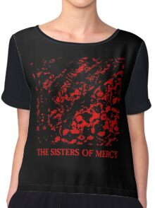 The Sisters of Mercy - No Time To Cry Chiffon Top
