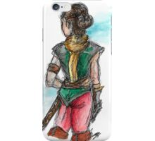 Lady adventurer iPhone Case/Skin